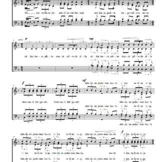 Kruusimäe / Peterson Laulja SATB pilt
